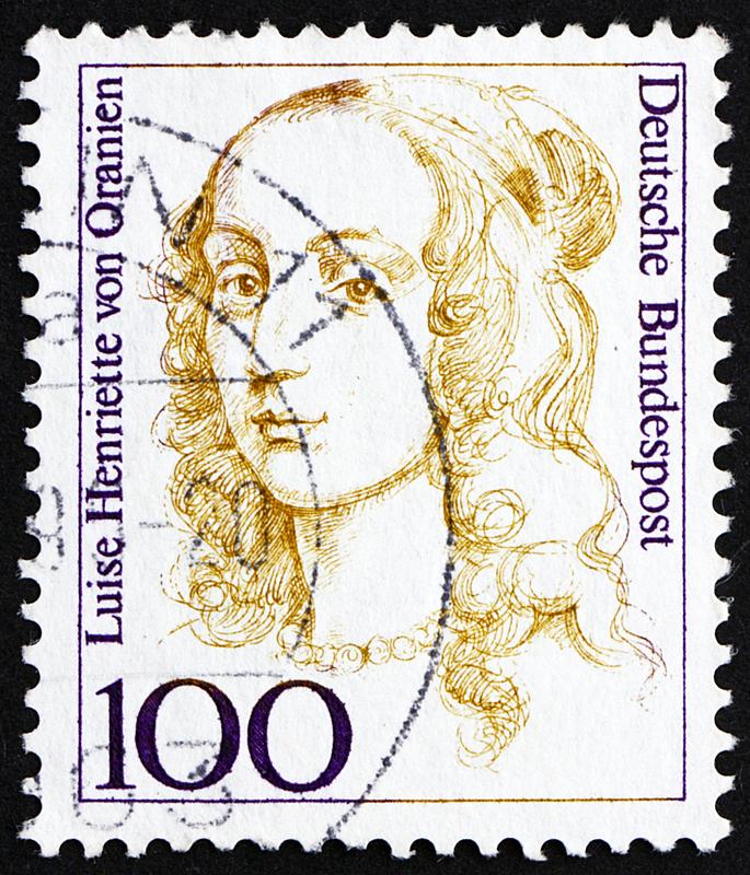 德国,橙色,1994,垂直画幅,女人,古老的,人,邮戳,普鲁士