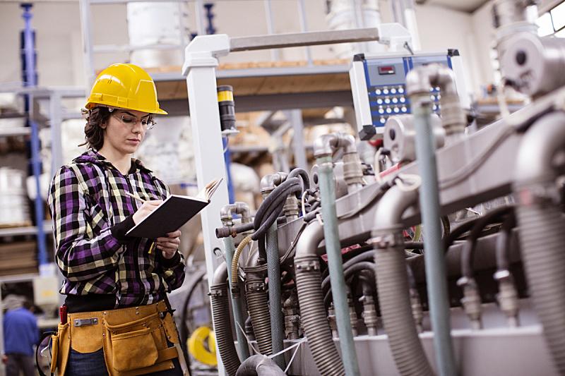 制造业职位,女人,工程师,技术员,工厂,防护镜,经理,叉车,建筑业,配送中心