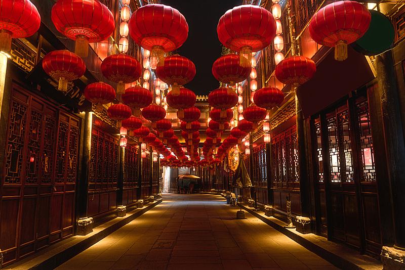 传统,成都,红色,月亮,奶茶,性格,新年前夕