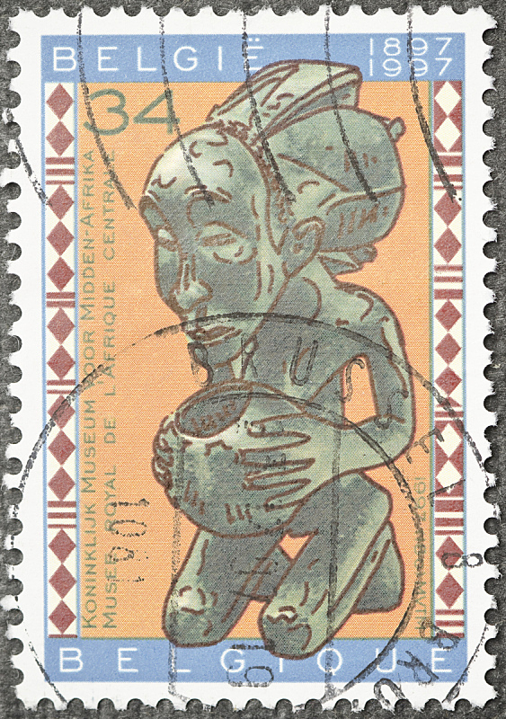 比利时,雕像,邮戳,工业,垂直画幅,无人,欧洲,古典式,纸
