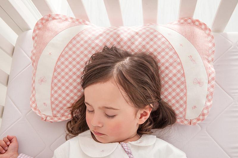 婴儿床,幸福,女孩,可爱的,窗帘,舒服,女婴,床单,床,儿童