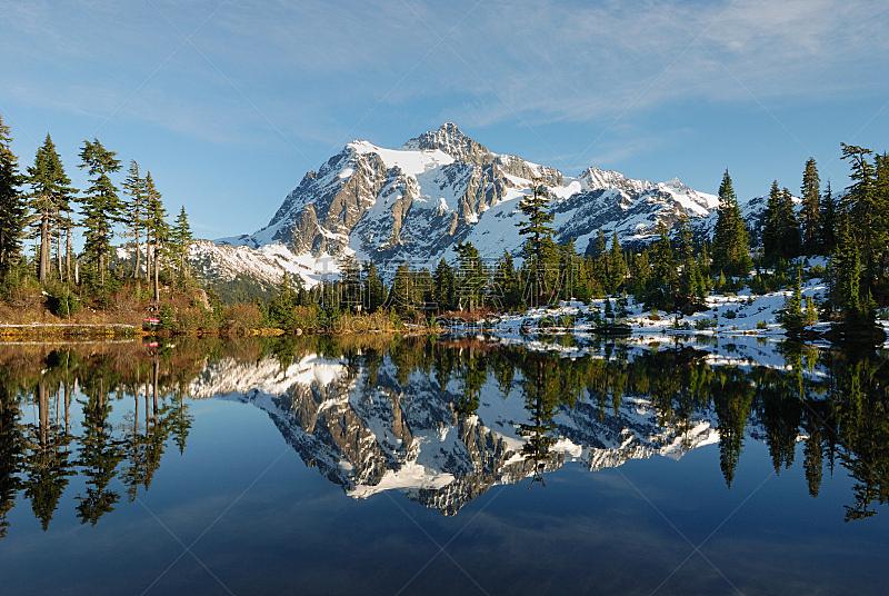 取景湖,水,公园,水平画幅,枝繁叶茂,无人,户外,湖,植物
