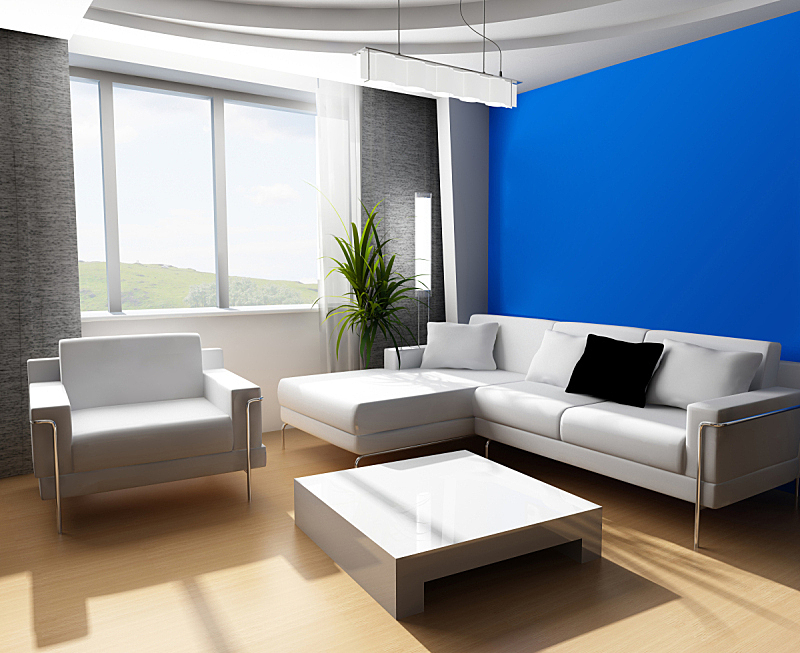 三维图形,起居室,顶楼公寓,家庭生活,灯,家具,图像,居住区,现代