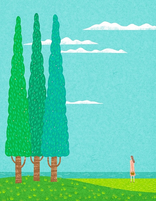 自然,背景,春天,陆地,开垦地,状态,概念,草坪,地形,树
