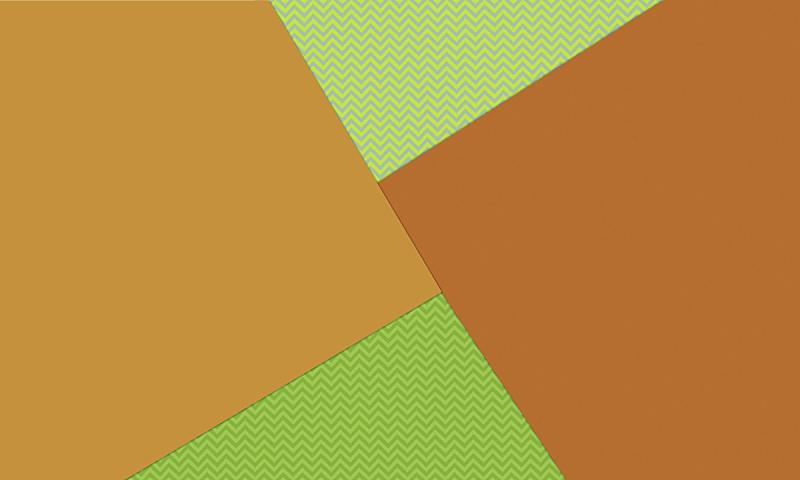 橙色,背景,之字形,绿色,式样,材料,倾斜视角,几何形状,动物图案,简单