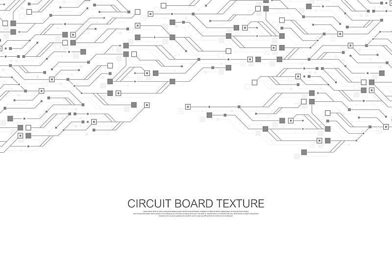 技术,矢量,工程,背景,绘画插图,电路板,抽象,未来,沟通