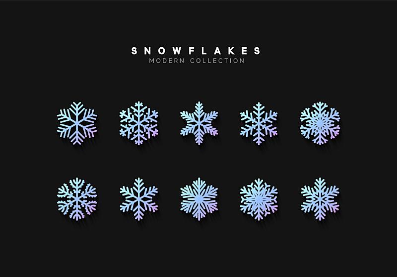 雪花,矢量,华丽的,圣诞装饰物,几何形状,环境,霜,天气,雪,背景