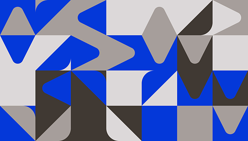 几何形状,极简构图,矢量,式样,蓝色,调色板,活力,华丽的,空的,对称