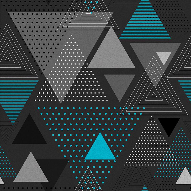 背景,三角形,抽象,潮人,式样,几何形状,背景分离,技术,复古风格
