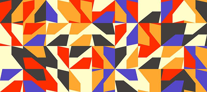 几何形状,极简构图,矢量,式样,活力,华丽的,空的,对称,纺织品,从容态度