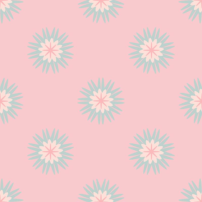 可爱的,四方连续纹样,绘画插图,砖地,星形,抽象,背景,矢量,多色的,圆点