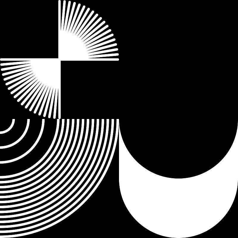 矢量,式样,抽象,黑白图片,暗色,几何形状,华贵,塑胶,灰色,复古风格