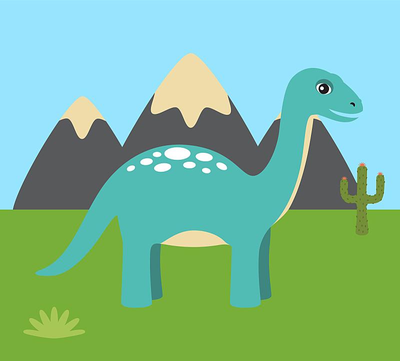 动物,绘画插图,矢量,自然,史前时代