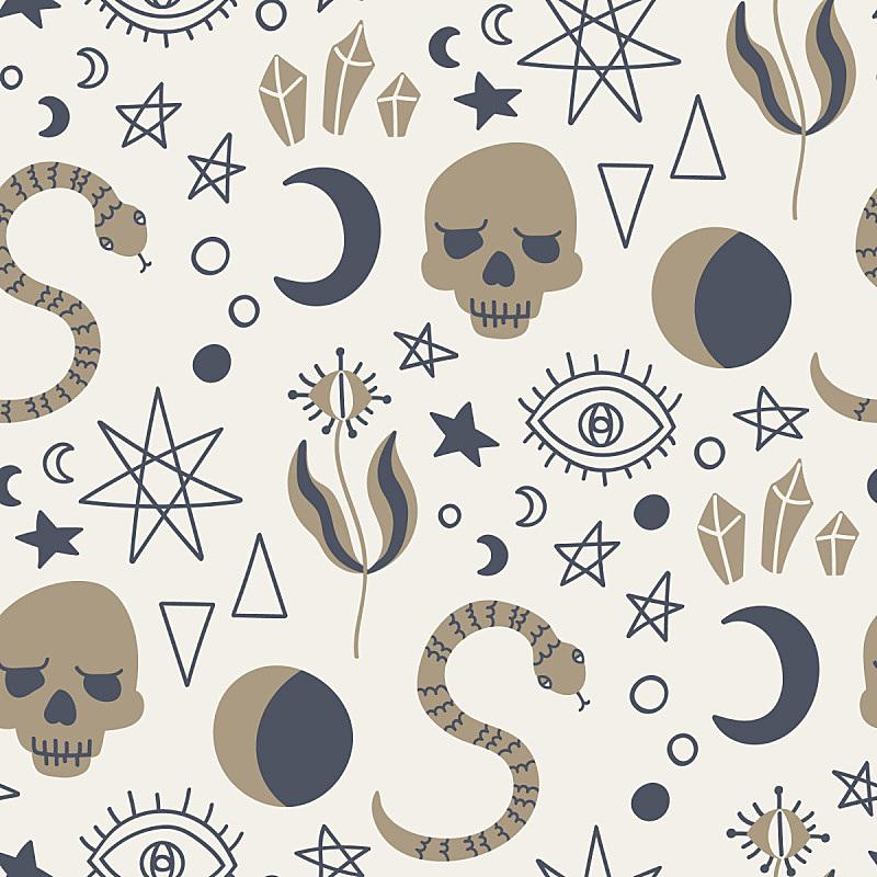 符号,式样,灵性,炼金术,巫术,秘密,可爱的,比赛小划艇,怪异