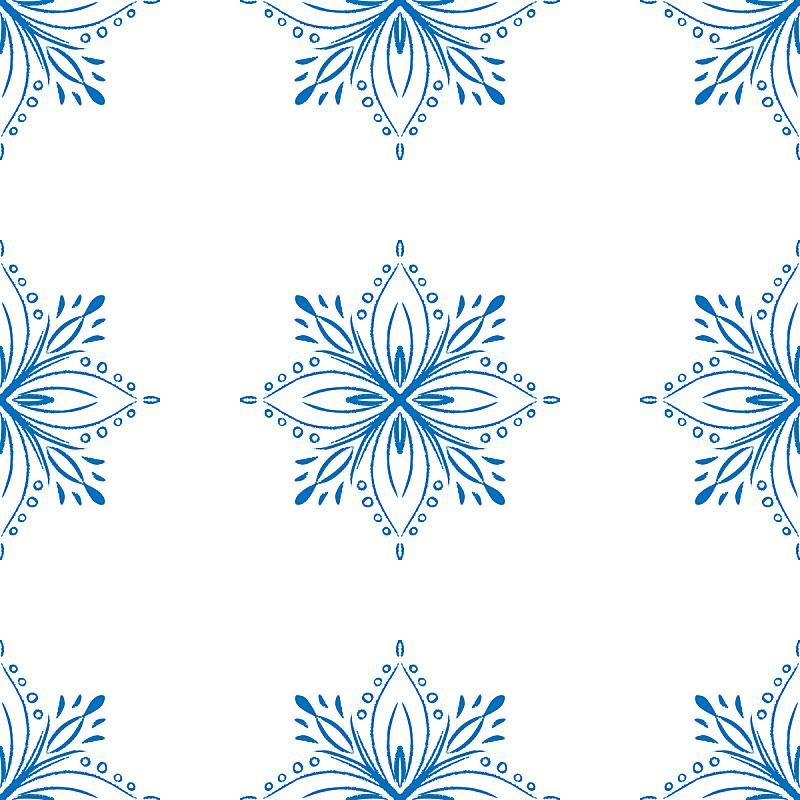 四方连续纹样,蓝色,乱画,冬天,包装纸,化学元素周期表,纺织品