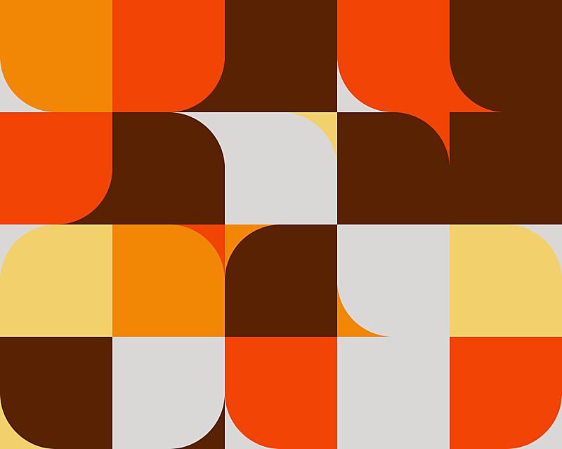 几何形状,极简构图,式样,矢量