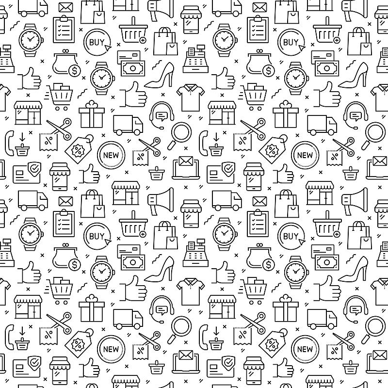 购物中心,四方连续纹样,土耳其,技术,模板,拿着,顾客,欢乐,信用卡,零售