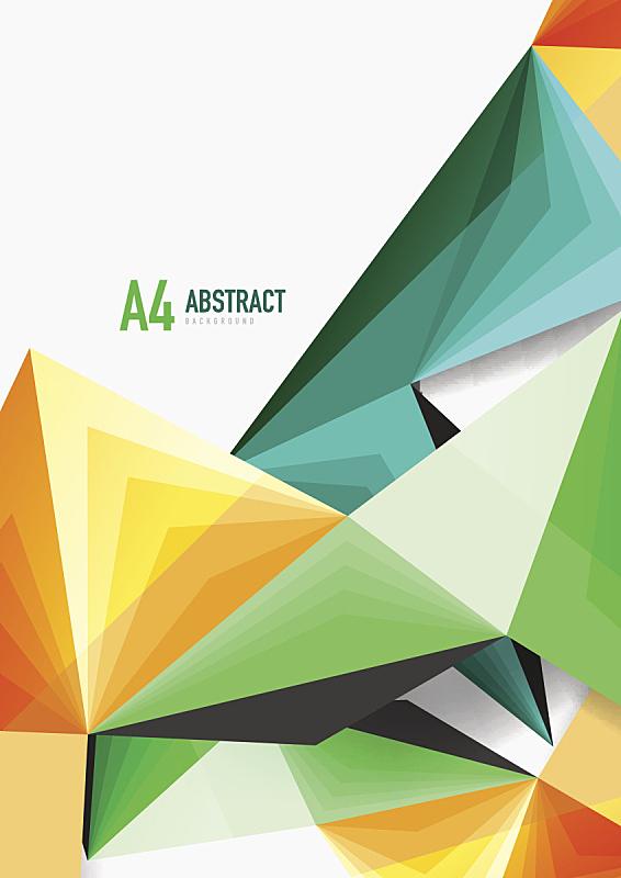 分界线,低多边形效果 ,矢量,三维图形,三角形,高雅,低的,垂直画幅,未来