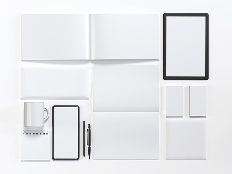 模板,商务,身份,白色,贺卡,信函,概念象征,技术,商业金融和工业