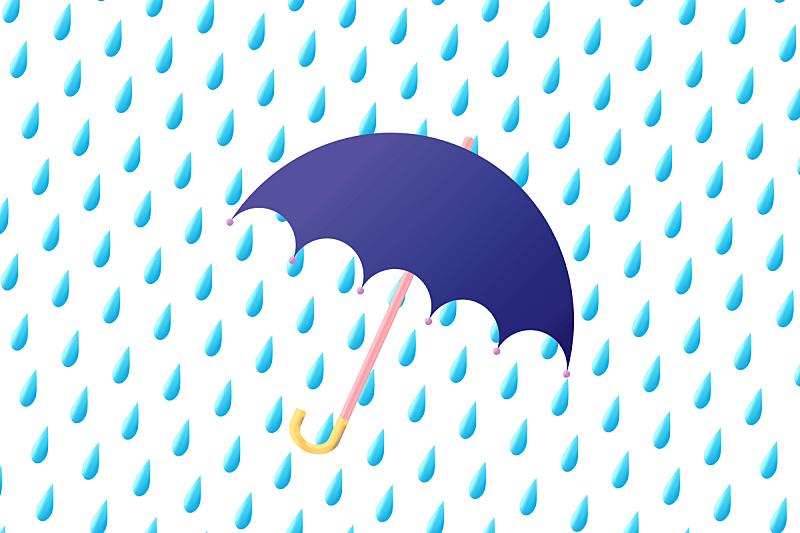 伞,雨,环境,天气,气象学,暴风雨,背景,天空,绘画插图,卡通
