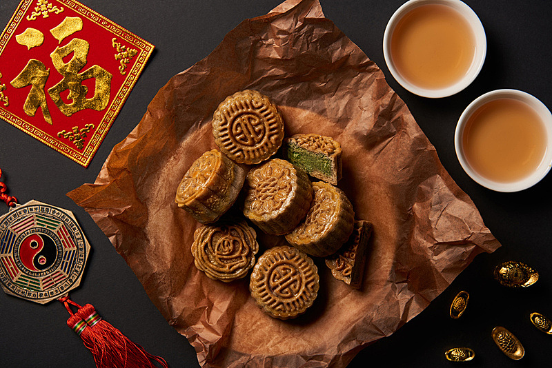 传统,茶,分离着色,抽陀螺,黑色背景,国内著名景点,事件,阴阳符,春节,中秋节