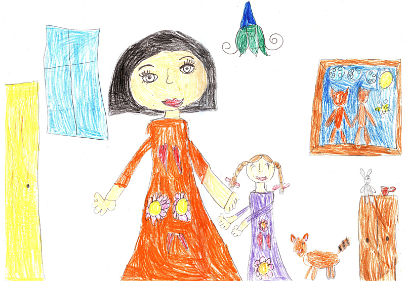 家庭,童年,幸福,房屋,室内,女儿,父母,女婴,摩尔多瓦共和国,玩具