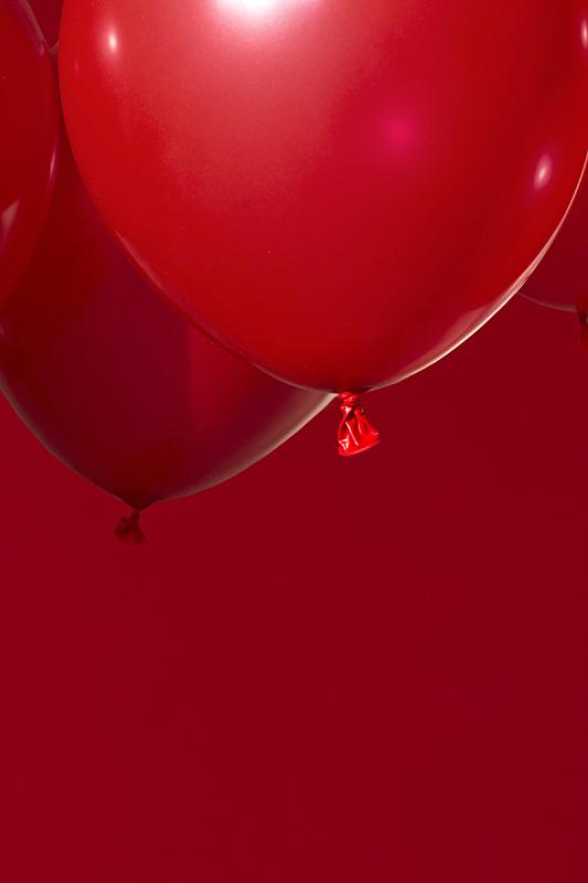 红色,气球,事件,情人节卡,背景,节日,纹理,乐趣,情人节,垂直画幅