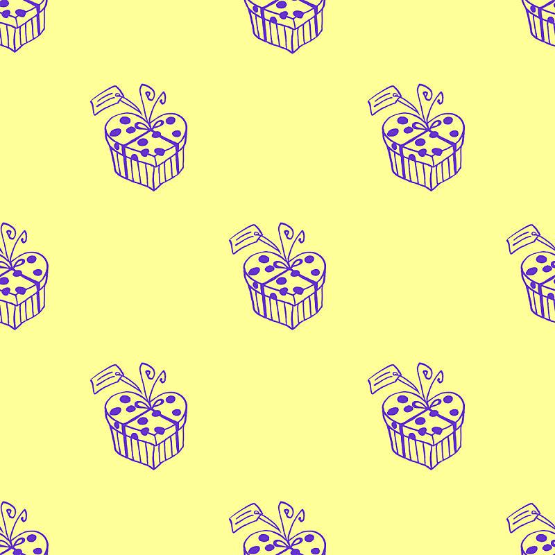 贺卡,纺织品,情人节,生日,可爱的,四方连续纹样,包装纸,母亲节,动物心脏,包装