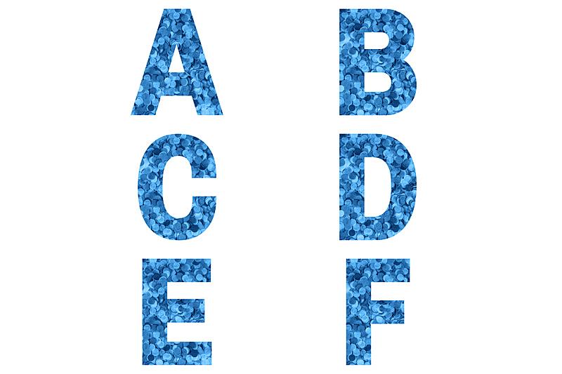英文字母b,英文字母e,字母,英文字母c,英文字母d,英文字母f,五彩纸屑,蓝色,字体,做