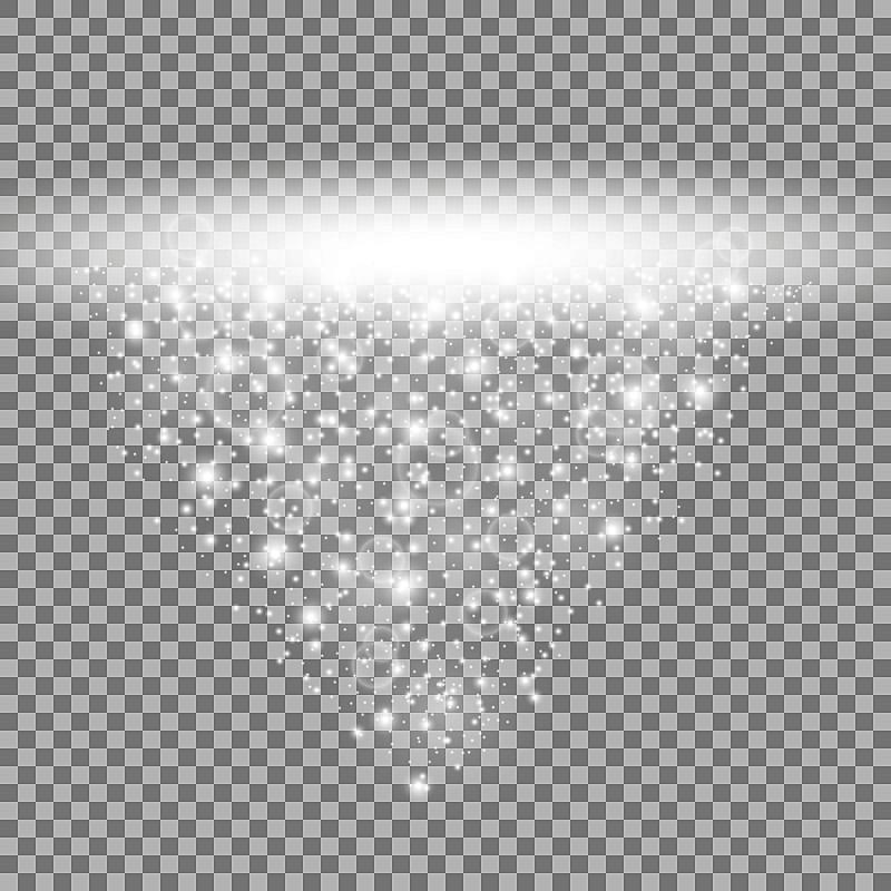 白色,阳光光束,星星,绘画插图,光,明亮,超自然,夜生活,电影工业,闪亮的