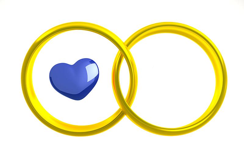 两个物体,结婚戒指,丈夫,贺卡,婚姻,妻子,华贵,浪漫,情人节卡,异性恋
