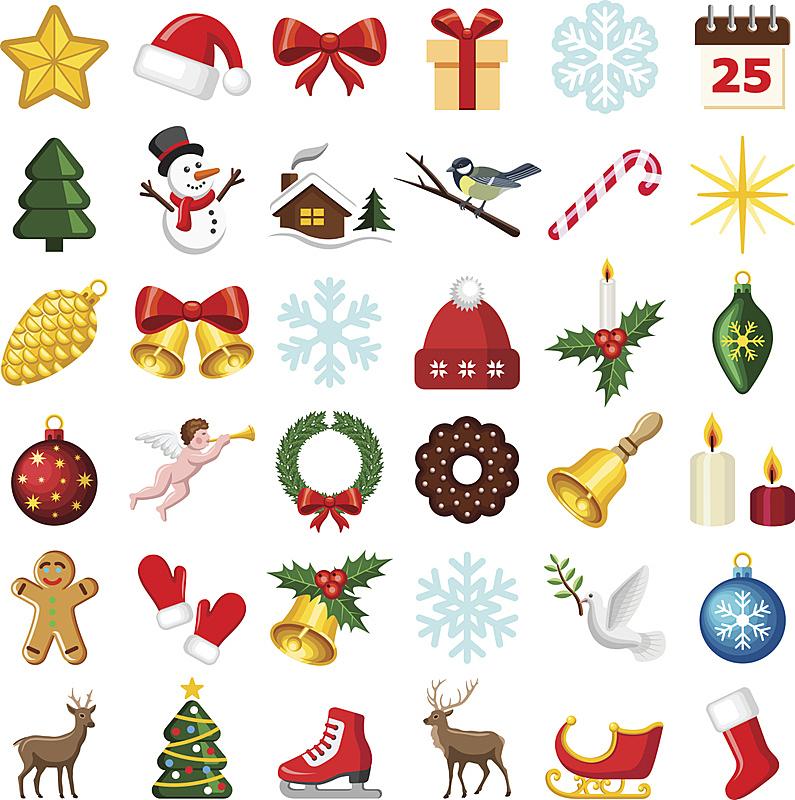 冬天,计算机图标,垂直画幅,圣诞帽,袜子,雪,甘蔗糖,无人,蝴蝶结