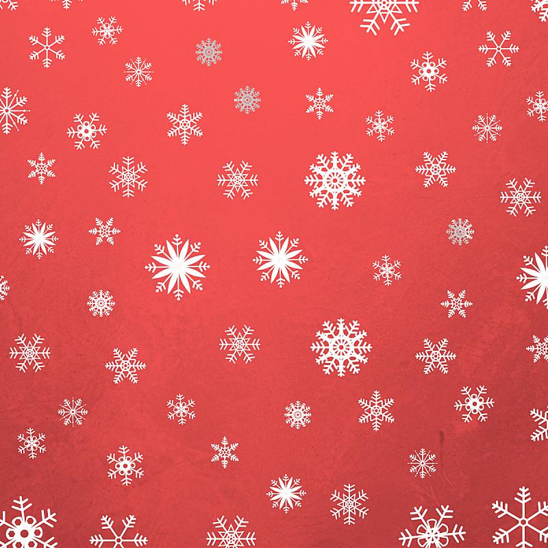 冬天,红色,背景幕,华丽的,贺卡,边框,雪,复古风格
