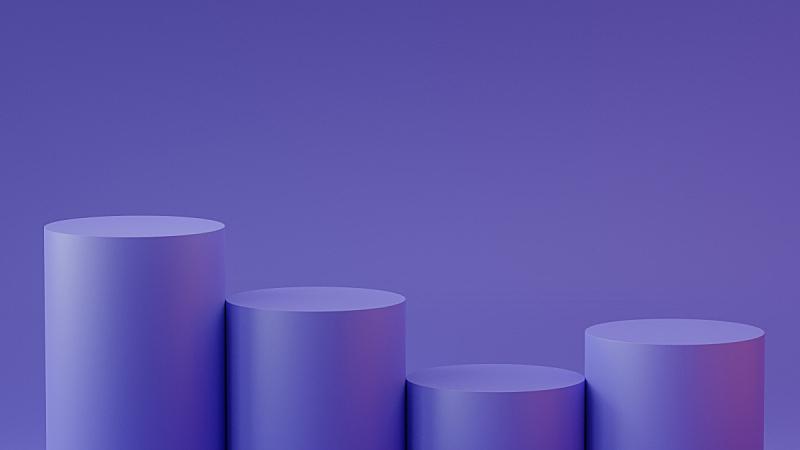空的,圆柱体,三维图形,背景,指挥台,台阶,商务,图表,平视角,背景分离