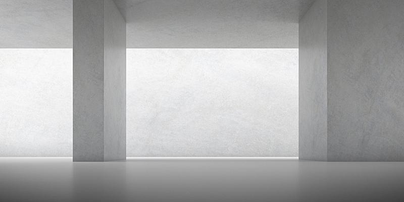 混凝土,建筑,阴影,博物馆,三维图形,几何形状,抽象,日光,涂鸦墙,建筑结构