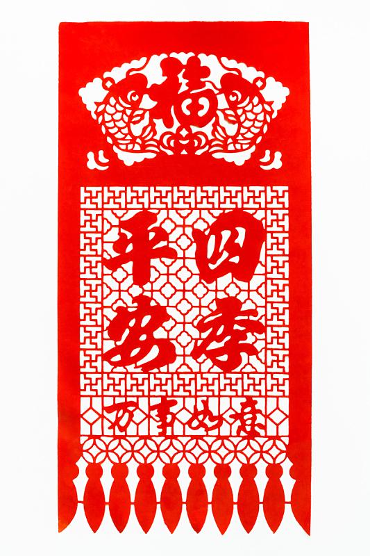 幸福,运气,春节,部落艺术,老年人,丰收的羊角,装饰