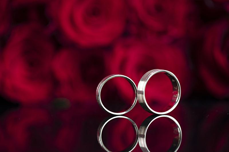 浪漫,概念,白昼,玫瑰,周年纪念,波兰,婚姻,婚礼,雕刻术,情人节