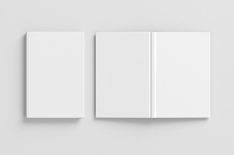 白色,空白的,垂直画幅,关闭的,上下颠倒,开着的,精装书,剪贴路径,空的