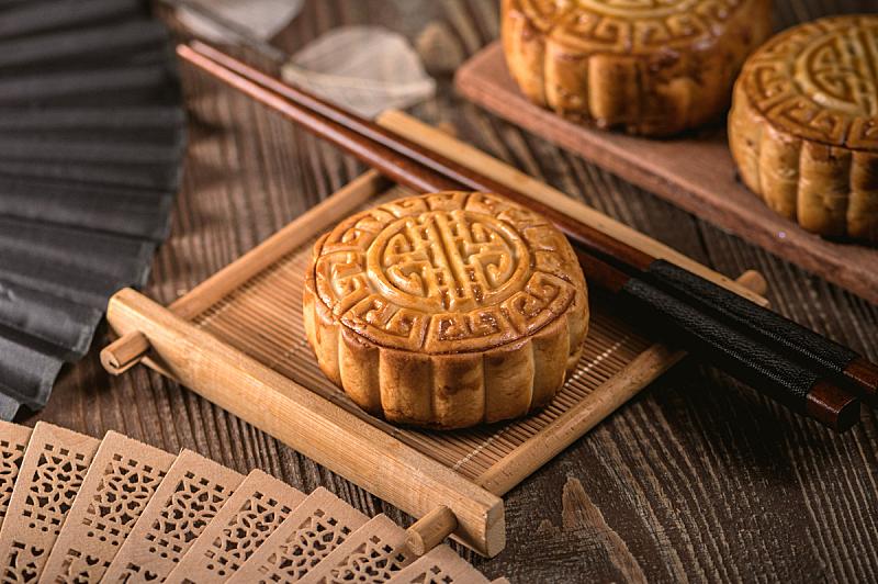 中秋节,月饼,传统,拉脱维亚,秋天,概念,饮食,图像,小吃,传统节日