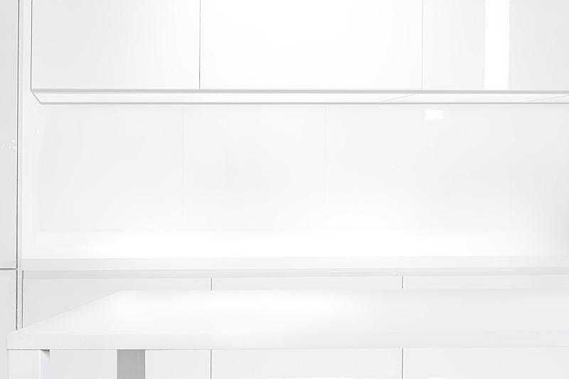 白色,厨房,极简构图,空的,波兰,华贵,食品,模板,现代,烹调