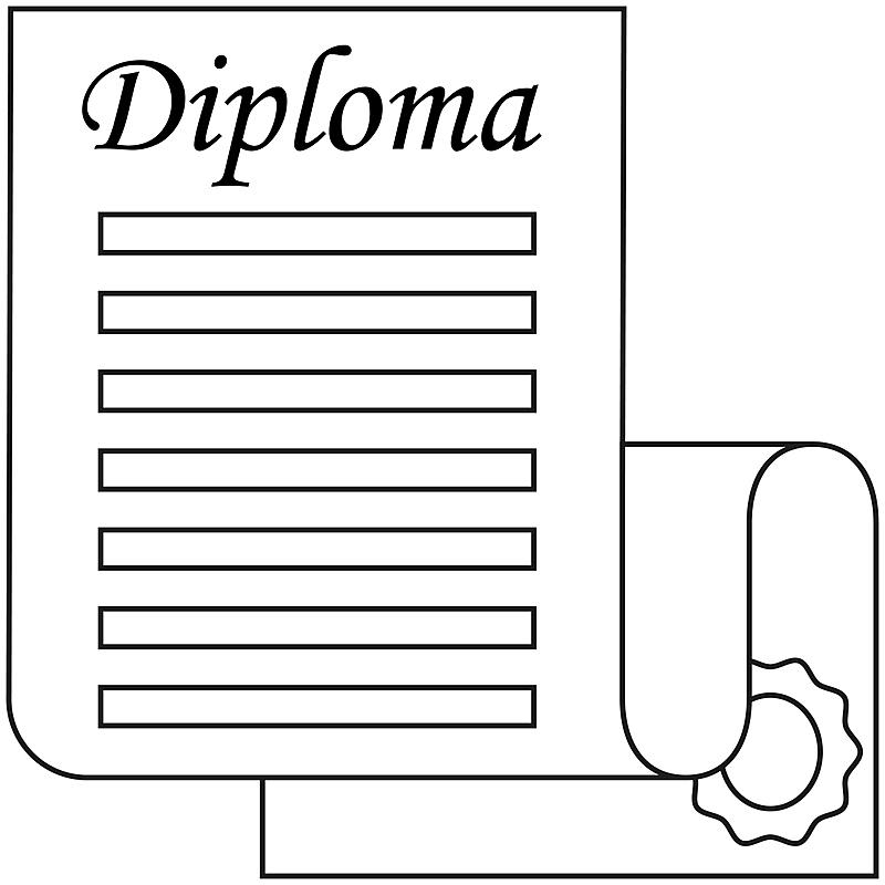 开着的,卷,线条画,文凭,黑白图片,艺术,消息,职权,绘画插图,符号