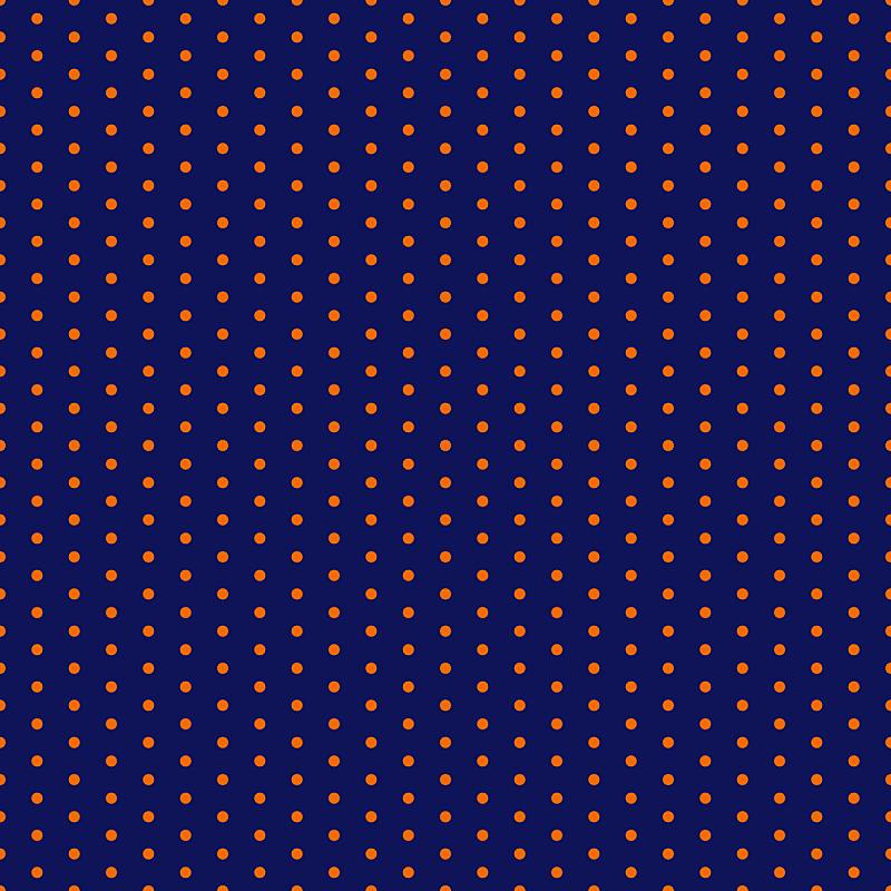四方连续纹样,橙色,蓝色,圆点,艺术,形状,纺织品,无人,绘画插图,几何形状