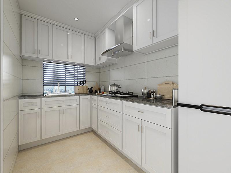 现代,柜子,厨房,三维图形,家庭,拉凡他那石拱,烹调用具,不锈钢,设计