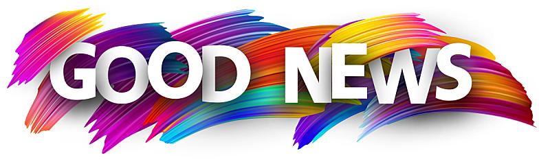 标志,色彩鲜艳,笔触,好消息,水平画幅,绘画插图,全景,画笔,俄罗斯,市场营销