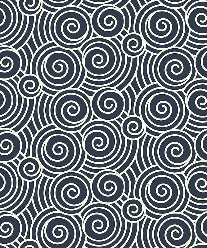 波浪,几何形状,青海波,和纸,和服,波兰,折纸工艺,纺织品,四方连续纹样,式样
