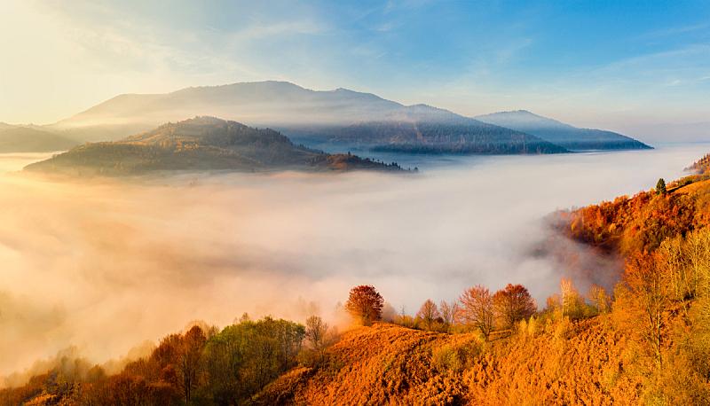 自然,秋天,环境,云,黄昏,春天,背景,户外,天空,多洛米蒂山脉