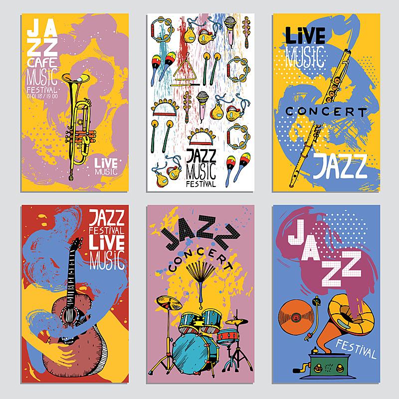 绘画插图,乐器,纹理,与众不同,墨水,爵士音乐节,动物手,艺术,爵士乐
