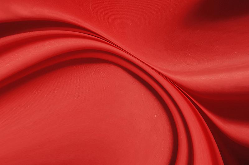 纹理效果,纺织品,床单,背景,丝绸,红色,抽象,波形,柔焦,窗帘