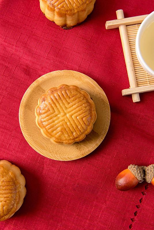 月饼,茶,传统,中秋节,秋天,蛋糕,垂直画幅,饮食,食品,图像