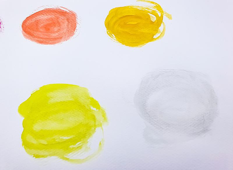 树荫,涂料,背景,水彩画,水彩颜料,水彩画颜料,美术工艺,泰国,图像,组物体